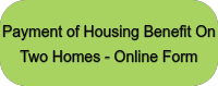 Payment of Housing Benefit On Two Homes