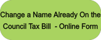 Change a Name Already On the Council Tax Bill