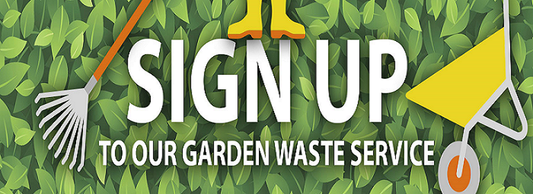 Join SSDC's Garden Waste Service image.